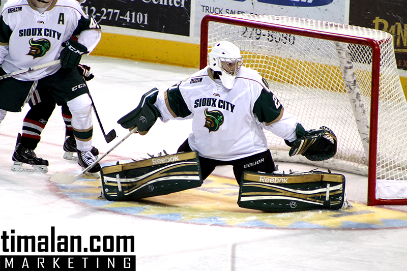 USHL Photos - Kyle Hayton SIoux City Musketeers