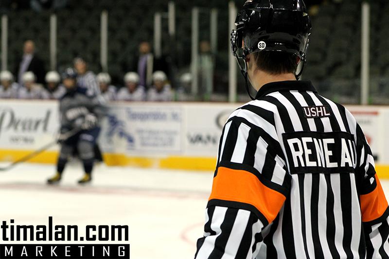 USHL Photos - Referee